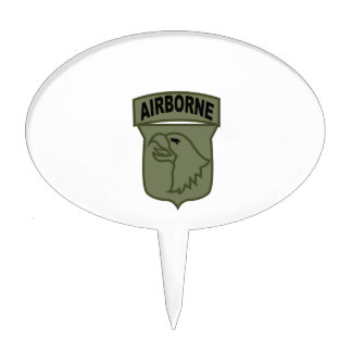 Airborne Patch Cake Topper