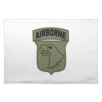Airborne Patch Cloth Placemat