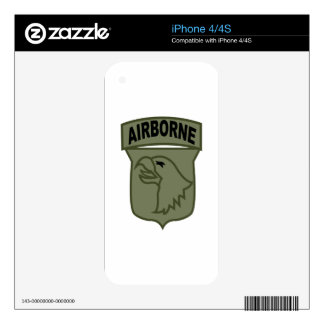 Airborne Patch Decals For iPhone 4