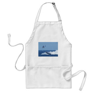 Airborne Powerboat And Helicopter Adult Apron
