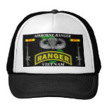 Airborne Ranger Vietnam Veteran Ball Caps Hats