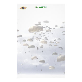 Airborne Rangers army son wife mom Stationery