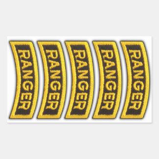 Airborne Rangers Veterans Vets LRRP Rectangular Sticker