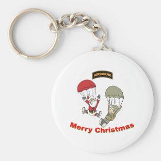 Airborne Santa II Light T-Shirt Keychain
