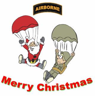 Airborne Santa II Light T-Shirt Statuette