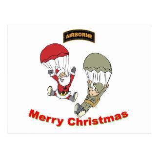 Airborne Santa II Postcard