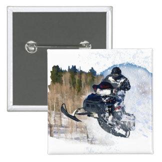 Airborne Snowmobile Button