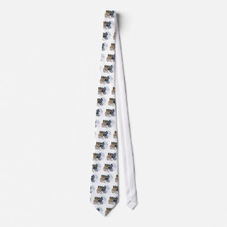Airborne Snowmobile Neck Tie