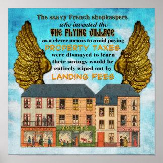 Airborne Tax Dodge Poster