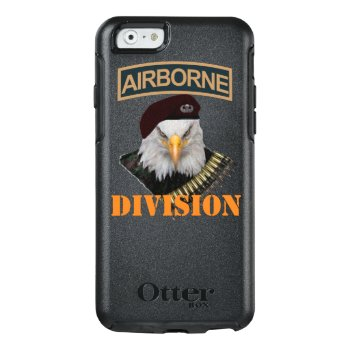 Airborne Units Bold Eagle Style Otterbox Iphone 6/6s Case by ComboDesign at Zazzle