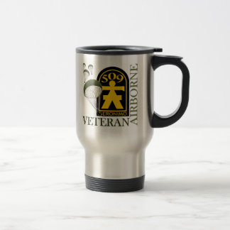 Airborne Veteran - 509th PIR Travel Mug