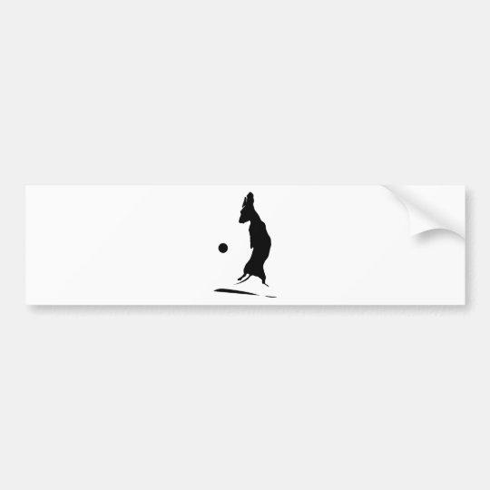 Airborne Weiner Bumper Sticker
