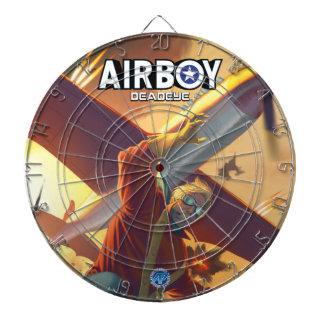 Airboy: Deadeye #1 cover Dartboard
