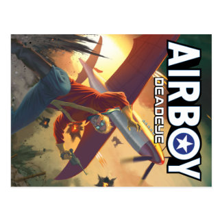 Airboy: Deadeye #1 Cover Postcard