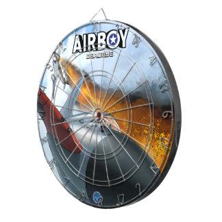 Airboy: Deadeye #3 cover Dartboard