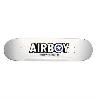 Airboy: Monopatín del logotipo de Deadeye Skate Board