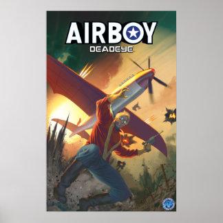 Airboy: Poster de la cubierta de Deadeye #1