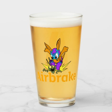 Airbrake Beer Glass