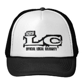 airbrush lc logo, Official Local Celebrity Trucker Hat