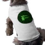 Airbrush Matrix Round2 Dogshirt by AirbrushWorld Huisdieren T Shirt