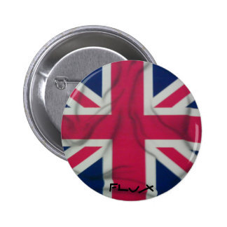 airbrushed union jack button by flux