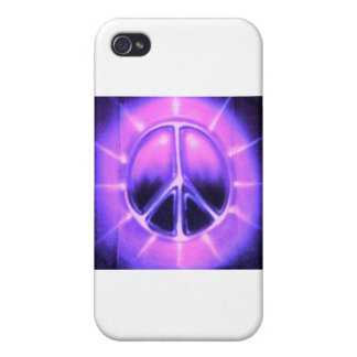 AIRBRUSHPEACESIGN iPhone 4 FUNDA
