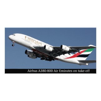 Airbus A380-800 images for photocard Card