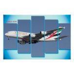 Airbus A380 for poster