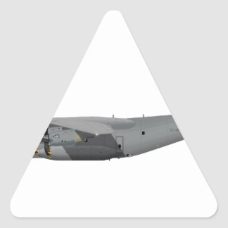 Airbus A-400M Grizzly 442442 Triangle Sticker