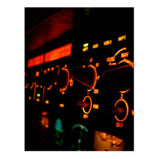 Airbus Cockpit Detail 5 Postcard