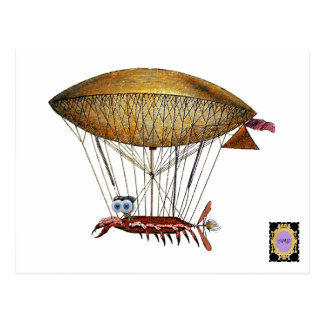 Aircrab Postcard