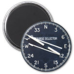 Aircraft Airplane Flying Flight Course Instrument 2 Inch Round Magnet