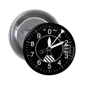 Aircraft Altimeter Gauge Button