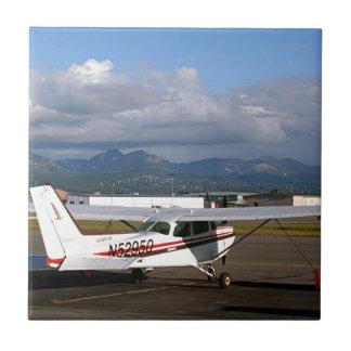 Aircraft, Anchorage, Alaska Ceramic Tile