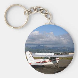 Aircraft, Anchorage, Alaska Keychain