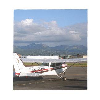Aircraft, Anchorage, Alaska Notepad