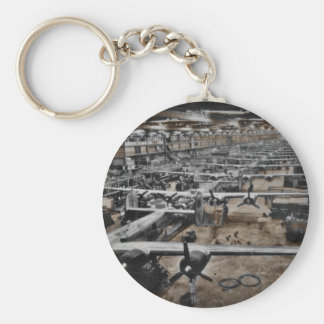 Aircraft Assembly Line WWII Key Chains