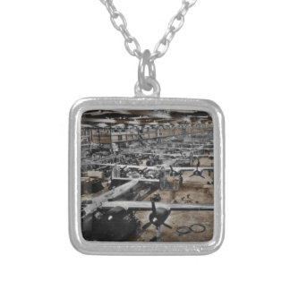Aircraft Assembly Line WWII Pendants