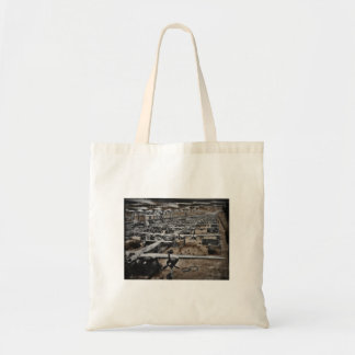 Aircraft Assembly Line WWII Tote Bag