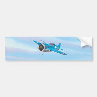 Aircraft Bumper Sticker