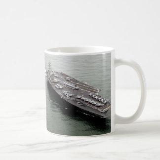 Aircraft carrier coffee mug