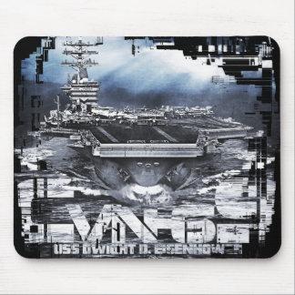 Aircraft carrier Dwight D. Eisenhower Mousepad