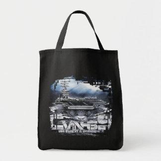 Aircraft carrier Dwight D. Eisenhower Tote Bag