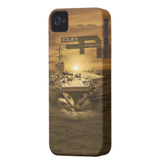 Aircraft carrier George H.W. Bush iPhone 4 Cover