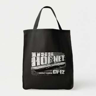 Aircraft carrier Hornet Tote Bag