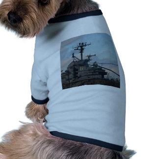 Aircraft Carrier In New York Pet Shirt