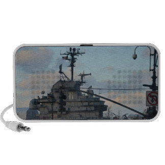 Aircraft Carrier In New York PC Speakers