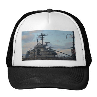 Aircraft Carrier In New York Trucker Hat