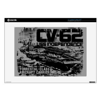 Aircraft carrier Independence Musicskins skin Decal For Laptop