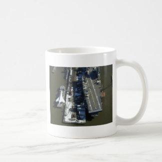 Aircraft Carrier Intrepid New York city Coffee Mug